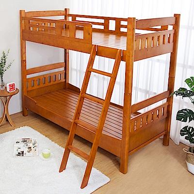 Bernice-帕斯3尺單人實木雙層床架-95x200x169cm