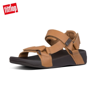 FitFlop RYKER BACK-STAP SANDALS魔鬼氈後帶涼鞋 淺褐