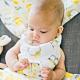 美國 Bebe Au Lait oh-so-soft 天絲圍巾兜 (花花字母ABC) product thumbnail 1