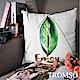 TROMSO 風尚北歐抱枕-綠葉金三角 product thumbnail 1