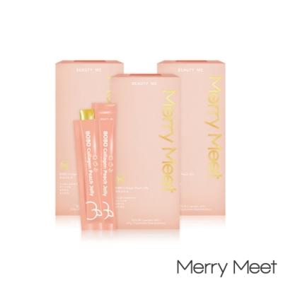 Merry Meet 蜜桃波波凍-3盒入(30包)