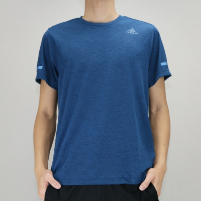 Adidas CHILL TEE M 男 短袖上衣 藍