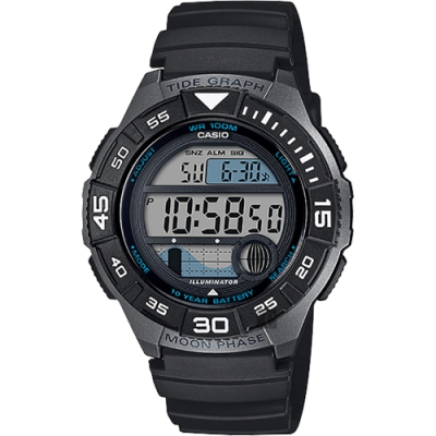 CASIO 卡西歐 海洋運動系列手錶 W-S200H-1A