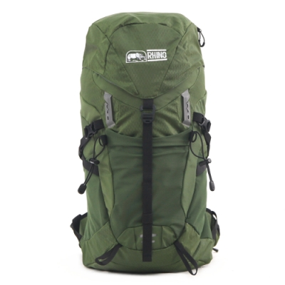 Rhino 犀牛 XLite 26公升透氣背包(登山包、露營包)-軍綠