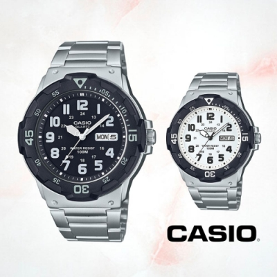CASIO卡西歐 DIVER LOOK潛水風鐵帶錶(MRW-200HD)