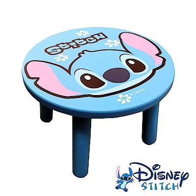 Disney 台灣製史迪奇大頭造型矮凳椅子