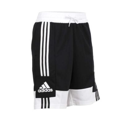 ADIDAS 男 籃球短褲 黑白