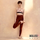 【LULU老師聯名】Mollifix 瑪莉菲絲 彈力修身高腰動塑褲 (龐貝紅) product thumbnail 1
