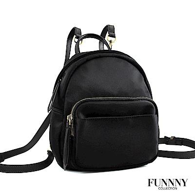 FUNNNY BLACK系列 後背包 Yuna 黑