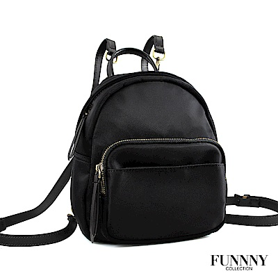 FUNNNY BLACK系列 後背包 Yuna 黑 (活動)