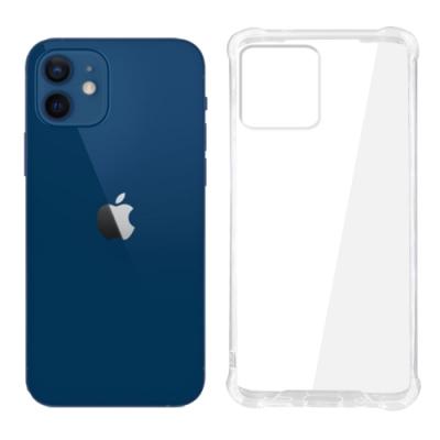 【SHOWHAN】iPhone 12 /iPhone 12 Pro 四角強化TPU矽膠+PC背板氣囊防摔空壓殼