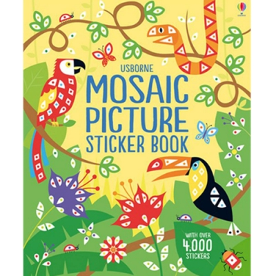 Mosaic Picture Sticker Book 拼貼貼紙書-風景篇