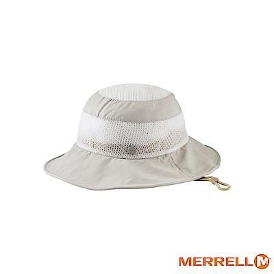 MERRELL 吸濕排汗快乾休閒帽-米白(5318HC157)