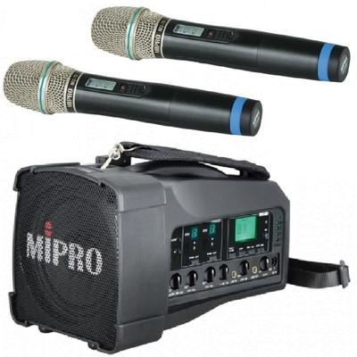 MIPRO MA-100D最新二代肩掛式藍芽無線喊話器代替MA-100DB