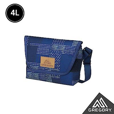 新色│Gregory 4L TEENY郵差包 拼接藍染