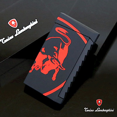 藍寶堅尼Tonino Lamborghini IL TORO LIGHTER打火機(黑紅)