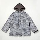 PIPPY 兩件式風衣印花布外套 灰