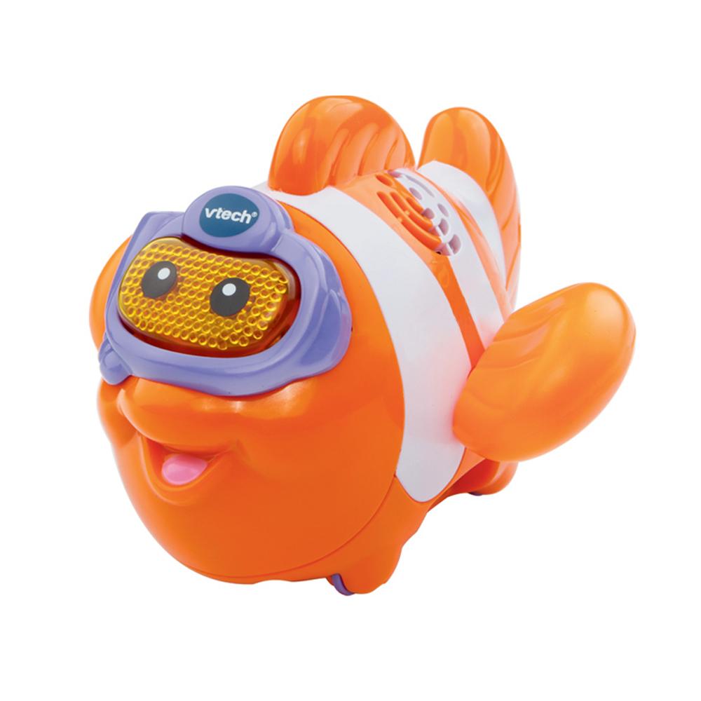 【Vtech】2合1嘟嘟戲水洗澡玩具系列-熱情小丑魚