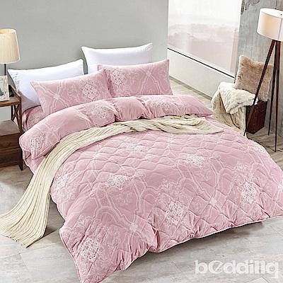 BEDDING-舒適系列海島棉6尺加大雙人薄式床包三件組-杰西卡