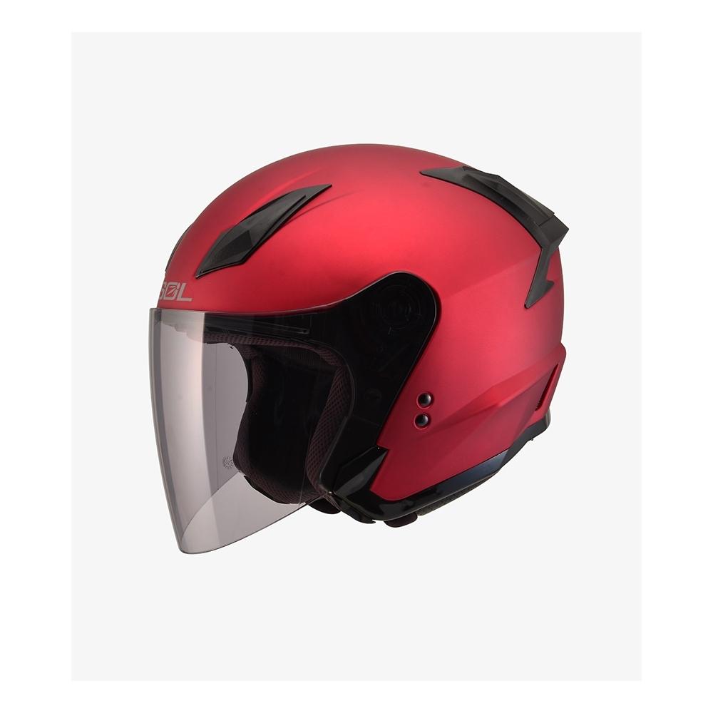 【SOL】SO-2 素色 素消光紅 3/4罩(安全帽│抗UV鏡片│可拆內襯│GOGORO)