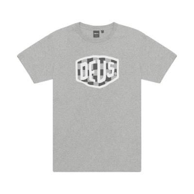 Deus Ex Machina  Moto Shield T恤-灰(男/女)