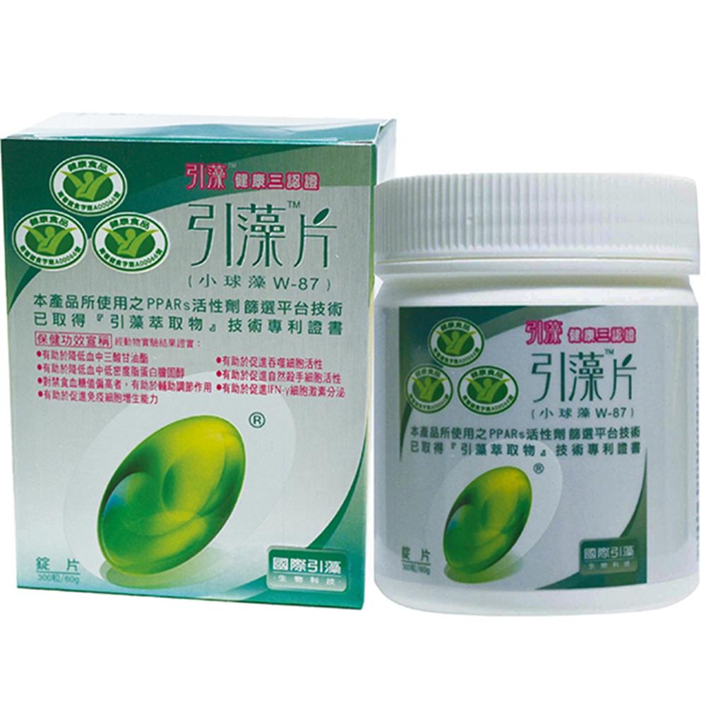 國際引藻 引藻片-小球藻W87-300粒裝
