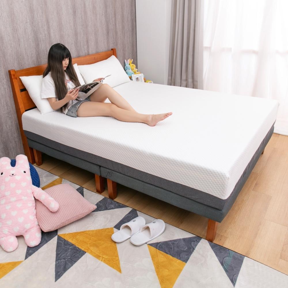 AS-艾莉爾6尺壓縮記憶床墊 加大