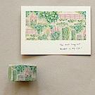 Dailylike 25mm單捲紙膠帶-02 吉維尼