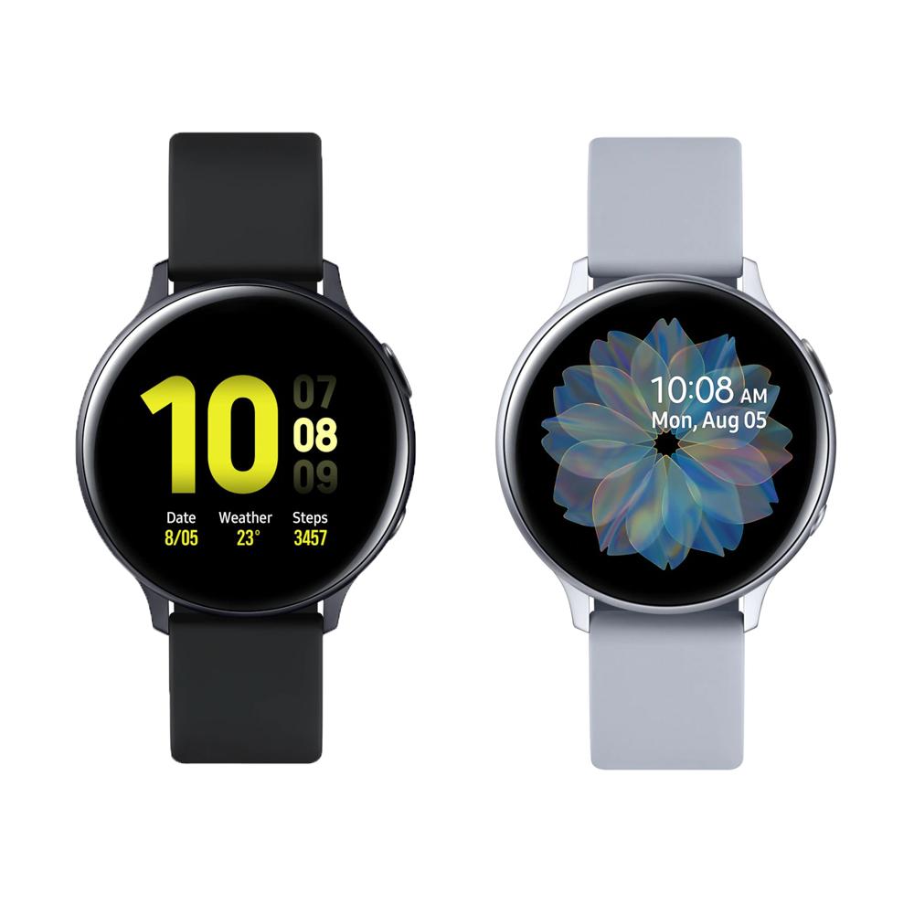 Samsung Galaxy Watch Active2 智慧手錶-鋁製/44mm 贈原廠無線充電板