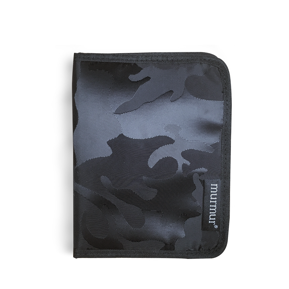 murmur護照套護照夾迷彩黑