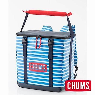 CHUMS-保冷背袋(20L) 藍白條紋