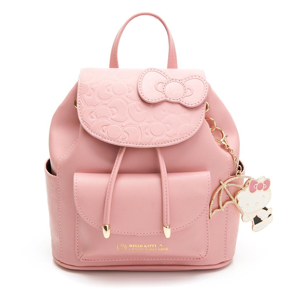 Hello Kitty聯名- 後背包 FRIENDLY系列-粉色