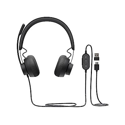 羅技 Zone Wired-Teams 有線耳機麥克風