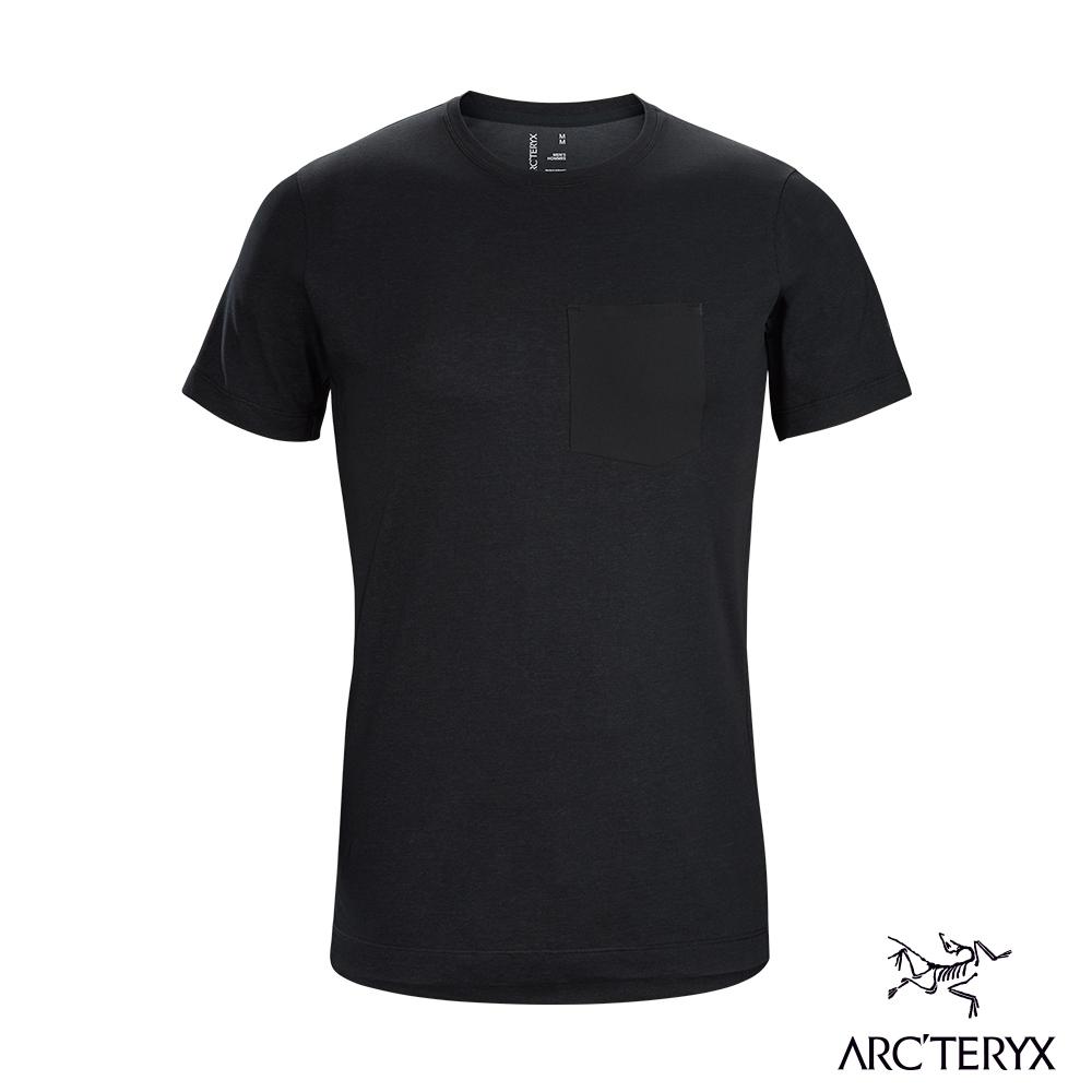 Arcteryx 始祖鳥 男 24系列 Eris 有機棉 短袖 T恤 黑