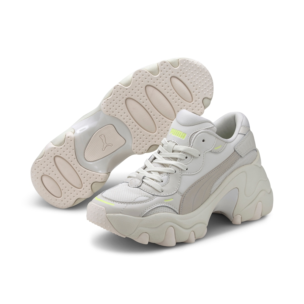 PUMA-Pulsar Wedge Tonal Wn's 女性復古休閒鞋-淺青灰