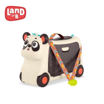 B.Toys 熊貓滑步行李箱_Land of B.系列