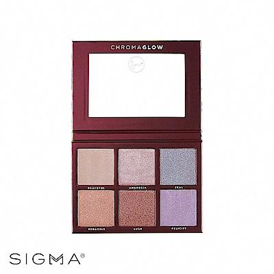 Sigma 6色打亮修容盤 28.14g Chroma Glow