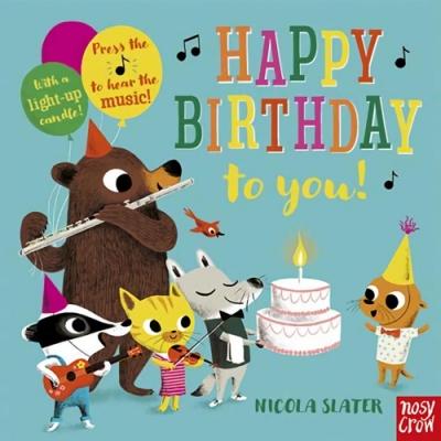Happy Birthday To You! 生日快樂硬頁音效書