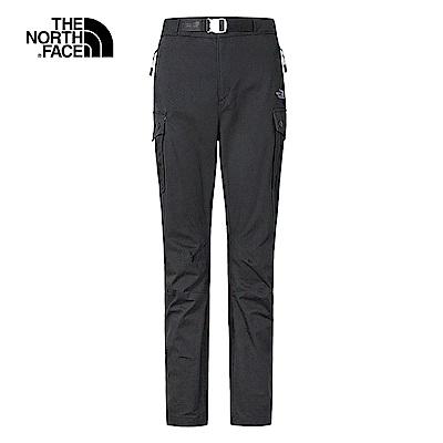 The North Face北面女款黑色防潑水休閒長褲|3V4LJK3