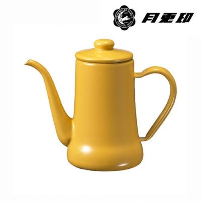 JIA Inc. 品家家品 月兔印-琺瑯手沖壺 0.7L-黃色