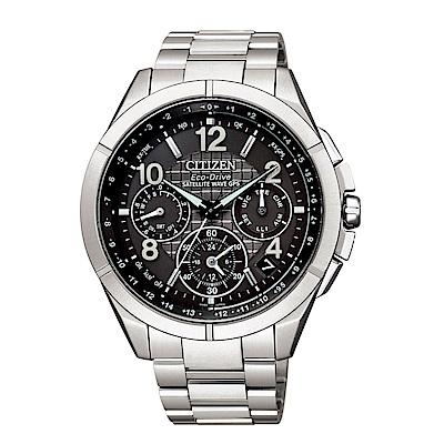 CITIZEN GPS極限衛星F900光動能鈦腕錶(CC9070-56H)