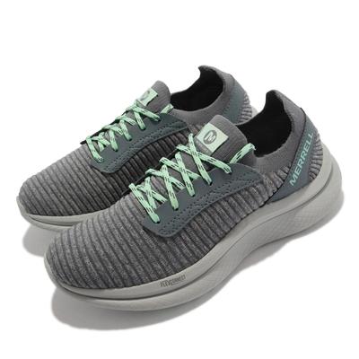 Merrell 慢跑鞋 Recupe Lace 運動 女鞋 內嵌式避震墊片 彈性 透氣 穩定 耐磨 灰 ML066396