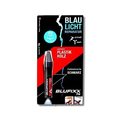 德國BLUFIXX藍光固化膠 補充膠(輕質型亮黑色)<德國製>