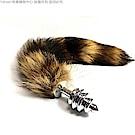 小小狐狸精尾巴+不銹鋼後庭肛塞 螺紋造型