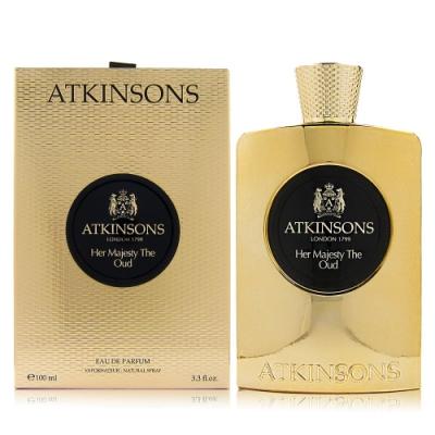 ATKINSONS HER MAJESTY THE OUD她的皇室沈香EDP 100ML贈同品牌針管