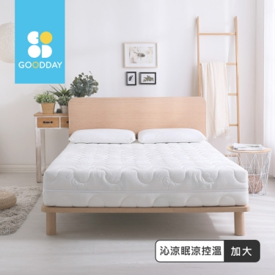 GOODDAY-沁涼眠-五段式乳膠獨立筒床墊(雙人加大6尺)