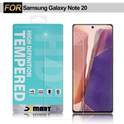 Xmart for Samsung Galaxy Note 20 薄型9H玻璃保護貼-可指紋辯識款
