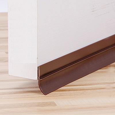 DM110 2入裝  門底氣密條(背膠)軟硬膠門底縫擋條 110CM (三色)