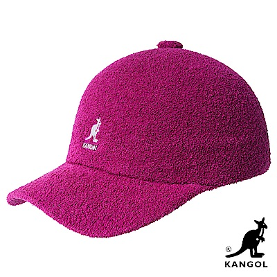 KANGOL-BERMUDA 棒球帽-果莓色