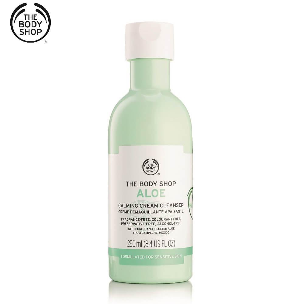 The Body Shop 蘆薈舒緩卸妝乳250ML